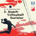 8. Beach-Volleyball Turnier am 12. + 13. September